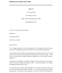 Cpa Resume Cover Letter Accounting Internship Template Surprising