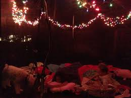 Camping Christmas Lights Creating A Favorite Space For Kids Add Christmas Lights To