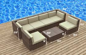 9 Outdoor Sectional Furniture