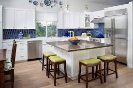 Square Kitchen Island Excellent Square Island Square Kitchen Island  Pleasant Try A Square Island With Round Stools In Your Kelowna Kitchen ...