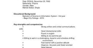 Undergraduate College Resume Template Resume Examples Undergraduate Resume Templates
