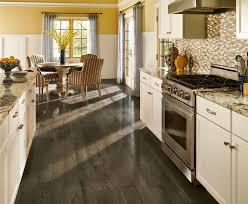 Vinyl Plank Woodlook Floor Versus Engineered Hardwood  Woods Kitchen And Floor Decor