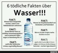 6 Tödliche Fakten über Wasser Lustige Bilder Sprüche Witze