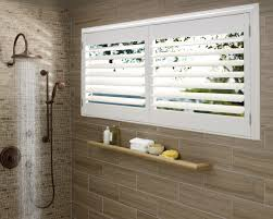 blinds for bathroom window. Plantation Shutters Bathroom Window Treatments Blinds For