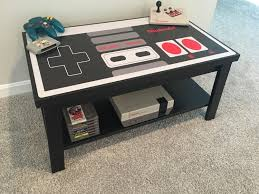 coffee table game console beautiful retro arcade game coffee table made by one of our members great for