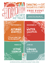 Eudamonium Wellness Retreat Aimee Copeland Foundation