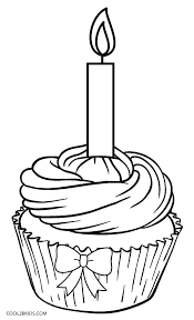 Cupcakes Coloring Sheets Cup Cake Coloring Page Free Coloring Book