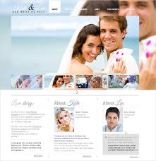 Wedding Website Templates Interesting Best Free Wedding Website Templates Best Wedding Website Templates