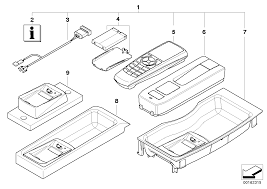 Bmw retrofit kit bluetooth handset
