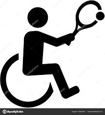 車椅子テニスのピクトグラム ストックベクター Miceking 139323374