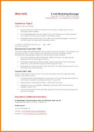 Marketing Resumes Templates Rental Invoice Template Word