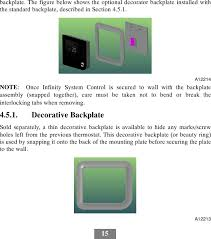 carrier infinity thermostat. page 24 of ccitc01b carrier infinity system control user manual systxccitc-01si united technologies electronic thermostat