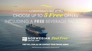 norwegian cruise line 2018 au tv mercial 15