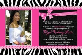 Black U0026 White Zebra Baby Shower Invitations U2013 Zebra Baby Shower Pink Zebra Baby Shower Invitations