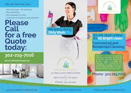 Cleaning Brochure Elegant Playful Brochure Design For All Bright Cleaning