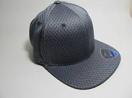 New Hat Cap Tow Slam Gray Plain Size One Fit Up To 7 1 4 5