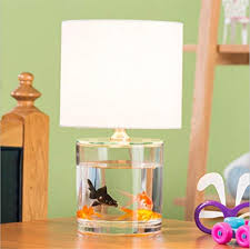 Retro E14 Desk Lamp Creative Fish Tank Modeling Glass Table Lamp For Bar  Cafe Restaurant With