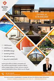 Real Estate Brochure Template Free Real Estate Multipurpose Free Flyer Template Psd Flyer