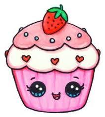 cute cupcake drawing. Delighful Drawing The Cutest Cupcake Kawaii Food Draw In Cute Cupcake Drawing