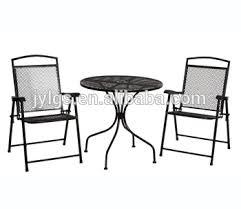 metal mesh patio chairs. Perfect Mesh 3piece Metal Mesh Patio Furniture Inside Patio Chairs E