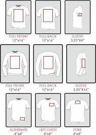 Monogram Size Chart Htv Sizing For Shirts How Big Do I Make My Image Cricut