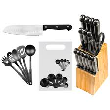 Imperial Home Decor Group Wallpaper Imperial Home 29 Piece Stainless Steel Kitchen Knife Set Reviews