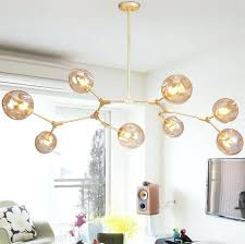 glass ball chandelier glass ball branching bubble pendant chandeliers for dining room living room modern chandelier