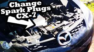 How to Change Spark Plugs - Mazda CX-7 - YouTube