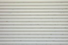 Garage Door Stripped Texture Metal Background Stock Image Image