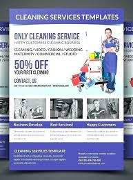 Cleaning Service Templates Cleaning Commercial Service Flyer Template Webbacklinks Info