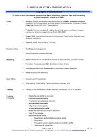 Resume Highlights Enchanting Highlights Of Qualifications Resume Musiccityspiritsandcocktail