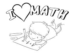 New Math Coloring Page Artsybarksy