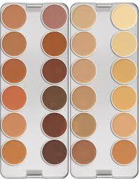 kryolan dermacolor 12 color camouflage palettes 歌劇魅影彩妝 百分百調