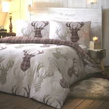 Tartan Stag Natural Quilt Cover Sets | Affordable & tartan stag-natural quilt cover sets Adamdwight.com