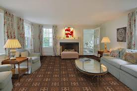 carpet design living room. attractive living room colors brown carpet pattern texture blue flower fabric window panel curtain design o