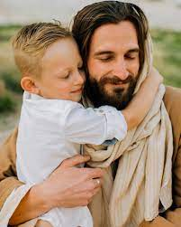 Jesus Holding a Child in his Hands, HD ...