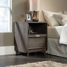 Sauder Bedroom Furniture Sauder International Lux Night Stand Fossil Oak Walmartcom