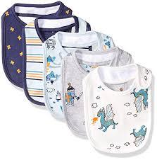 Rosie Pope Size Chart Rosie Pope Kids Toddler Baby 5 Pack Bibs