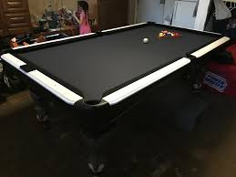 Refurbished Artisen Pool Table From The Ground Up And All