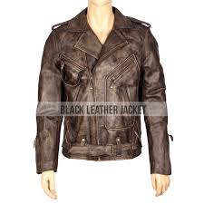 john cutter passenger 57 distressed leather jacket