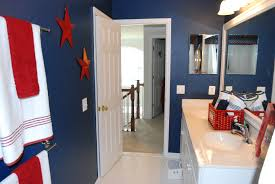 Dark Blue Bathroom Nautical Themed Bathroom Vanity Lights Free Image