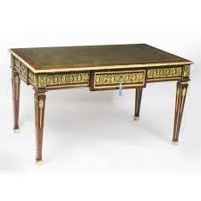 antique french empire revival bureau plat desk writing table c 1900