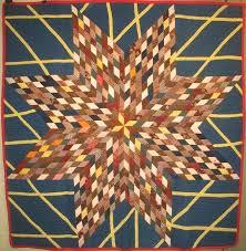 Starburst Antique Quilt at Laura Fisher Quilts. A unique variation ... & Starburst Antique Quilt at Laura Fisher Quilts. A unique variation of a  pieced star, Adamdwight.com