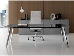 glass office furniture. Rectangular Glass Executive Desk SOHO | Office Furniture