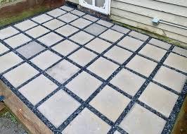 build a concrete paver patio