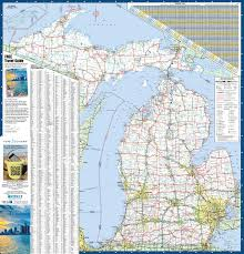 michigan state maps  usa  maps of michigan (mi)
