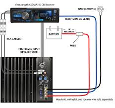 dual alb10 10 subwoofer ported enclosure 300w walmart com typical installation diagram