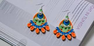 Paper Flower Lyrics How To Make Paper Quilling Flower Earrings Quilling Made Easy
