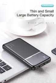 <b>KUULAA Power Bank</b> 10000mAh Portable Charging PowerBank ...
