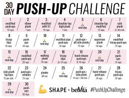 The 30 Day Push Up Challenge For Seriously Sculpted Arms